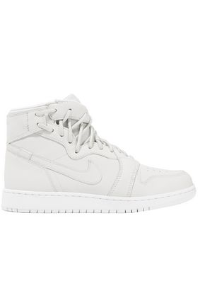 NIKE Lace-up leather high-top sneakers
