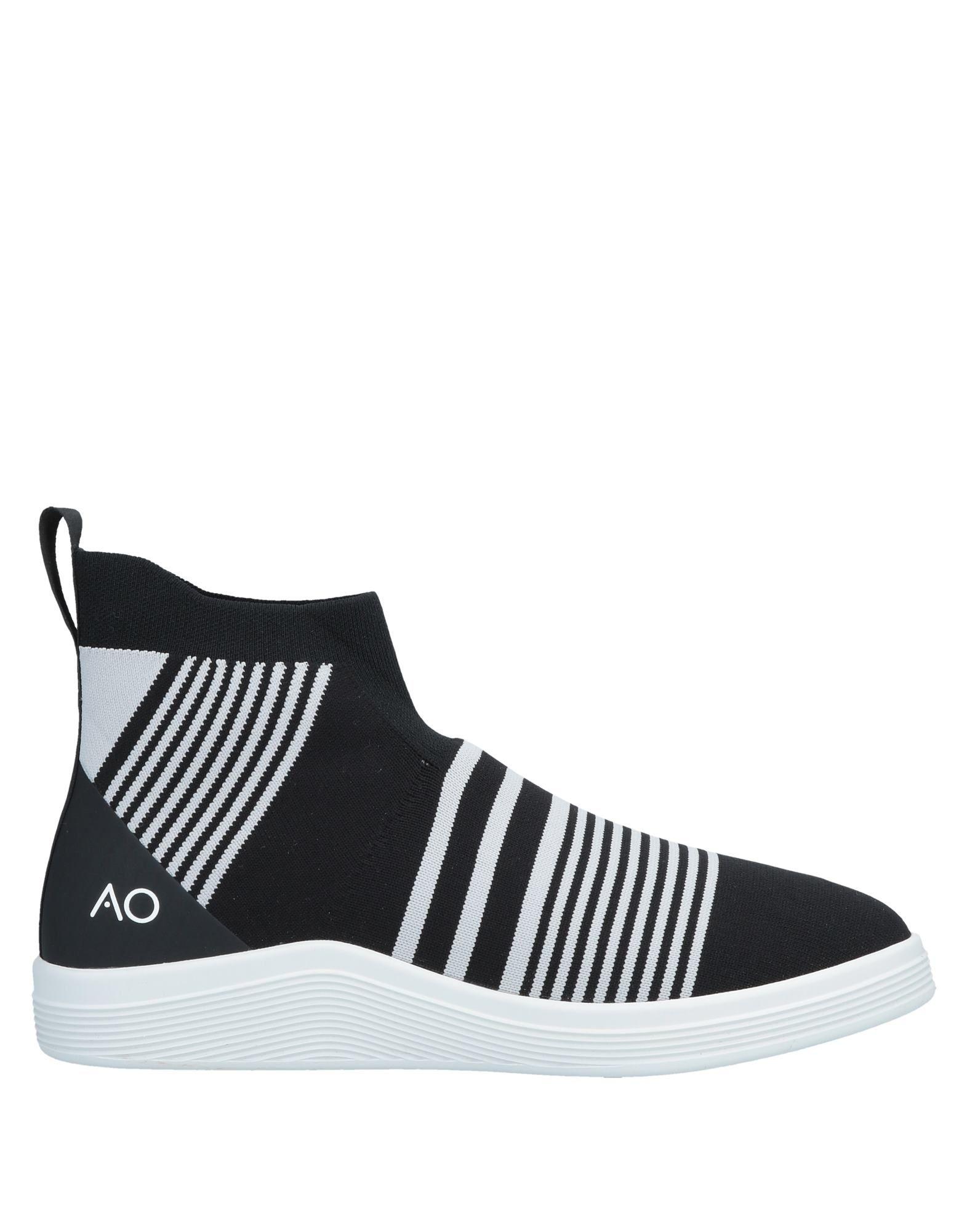 《セール開催中》ADNO? メンズ スニーカー&テニスシューズ(ハイカット) ブラック 41 紡績繊維