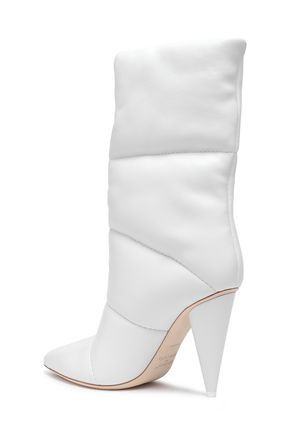 OFF-WHITE™ C/O JIMMY CHOO Leather boots