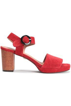 ALEXACHUNG Suede sandals