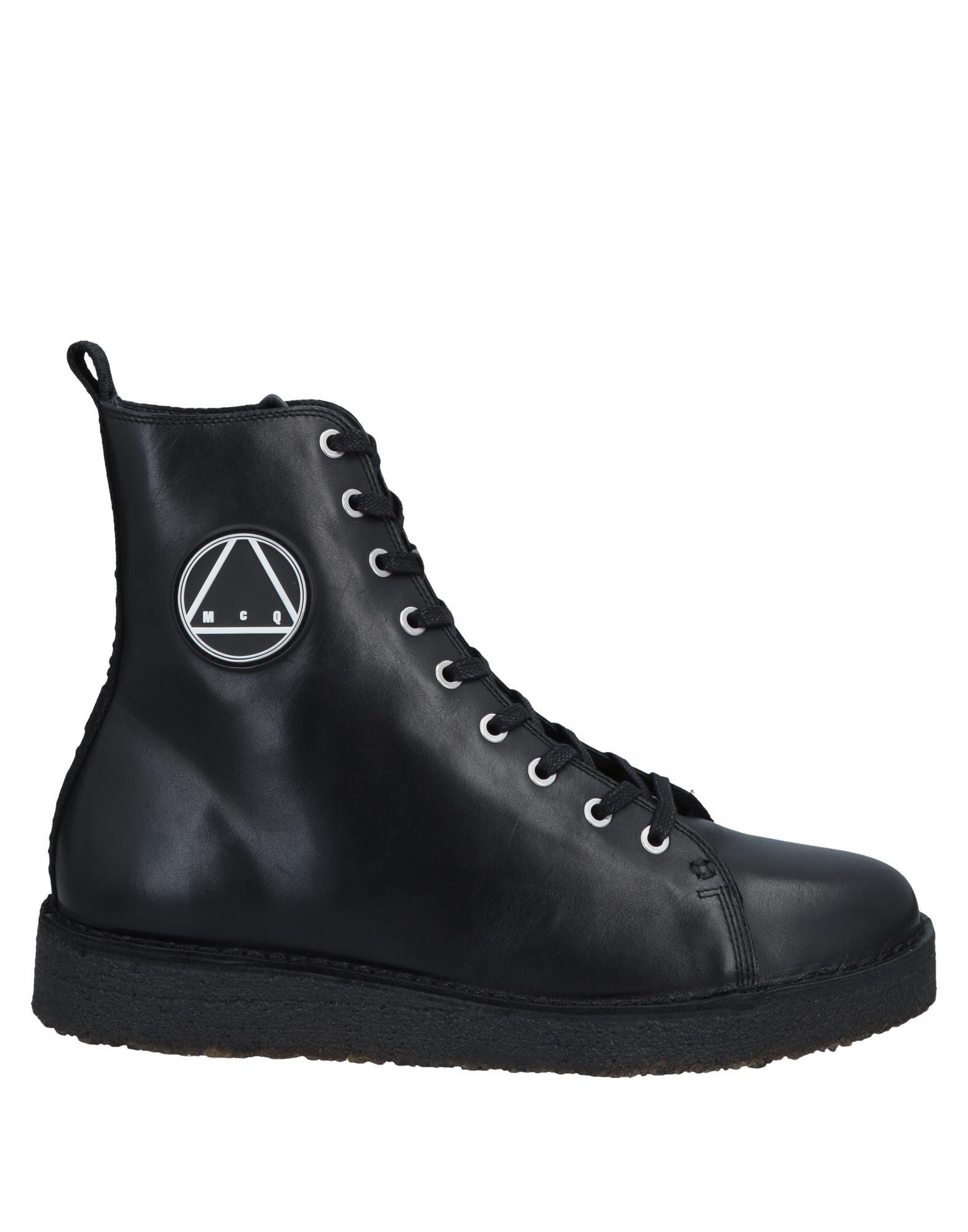 McQ Alexander McQueen Полусапоги и высокие ботинки