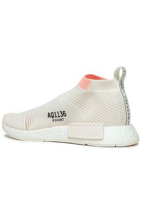 ADIDAS ORIGINALS NMD_CS1 rubber-trimmed Primeknit sneakers