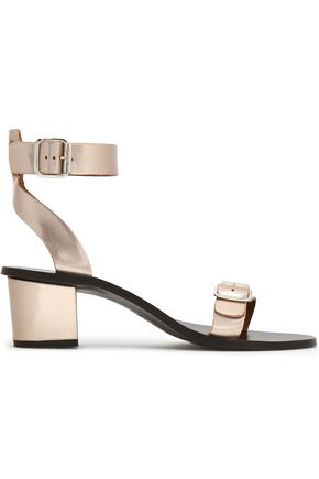 ATP ATELIER Metallic leather sandals