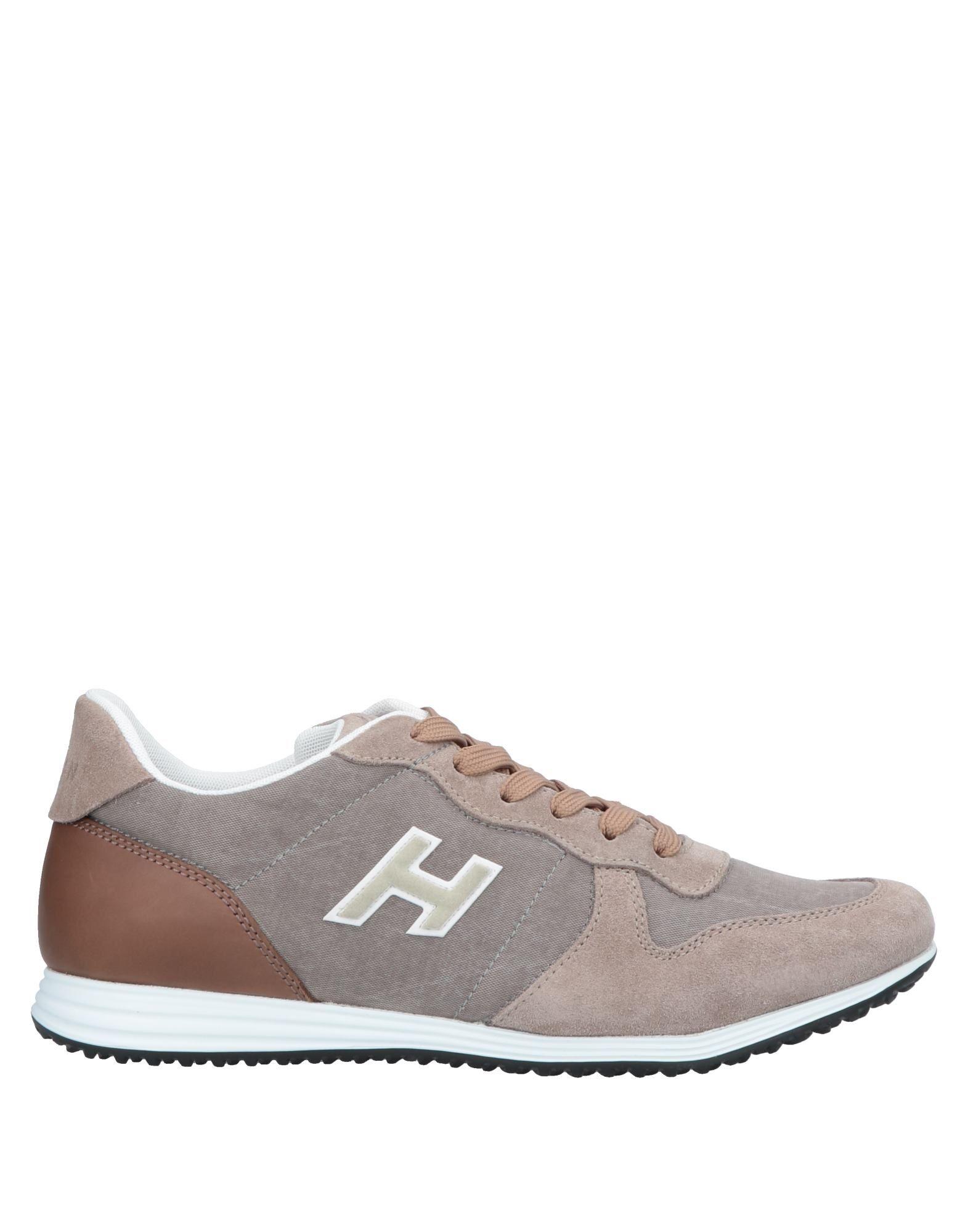 《送料無料》HOGAN メンズ スニーカー&テニスシューズ(ローカット) ドーブグレー 5.5 革 / 紡績繊維