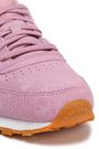 REEBOK Classic snake-effect suede sneakers