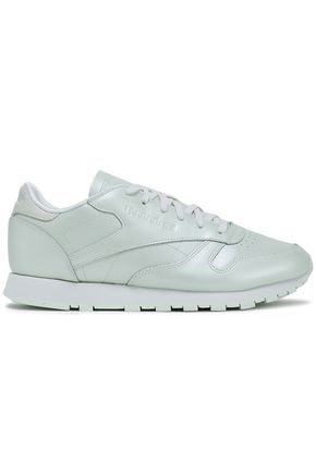 REEBOK Leather sneakers