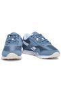 REEBOK Suede-trimmed mesh sneakers