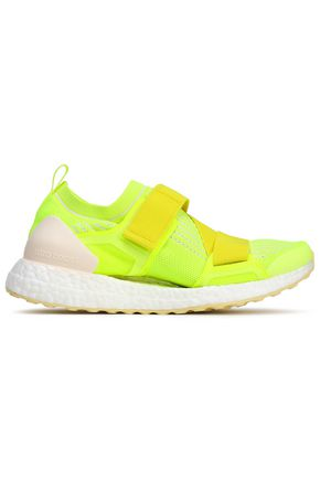 ADIDAS by STELLA McCARTNEY Neon stretch-knit sneakers