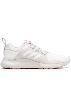 ADIDAS Edgebounce mesh-trimmed stretch-knit sneakers