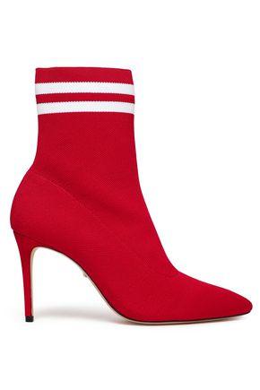 SCHUTZ Gisela stretch-knit sock boots