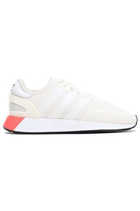 ADIDAS ORIGINALS N-5923 leather-trimmed mesh sneakers