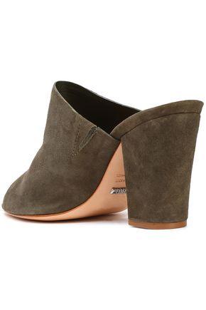 SCHUTZ Clark suede sandals