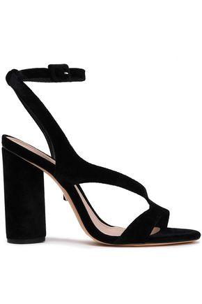 SCHUTZ Rutte suede sandals
