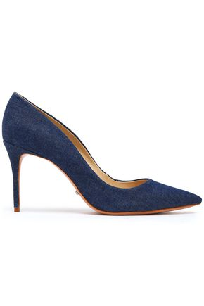 SCHUTZ Rosie denim pumps