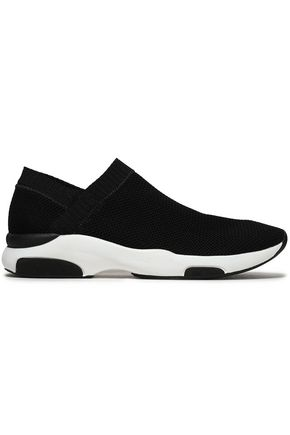 SCHUTZ Tecido stretch-knit sneakers