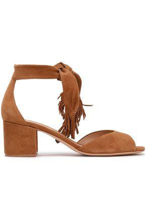 SCHUTZ Kalicia fringed suede sandals