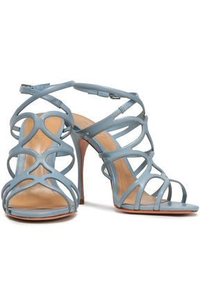 SCHUTZ Rosie cutout leather sandals