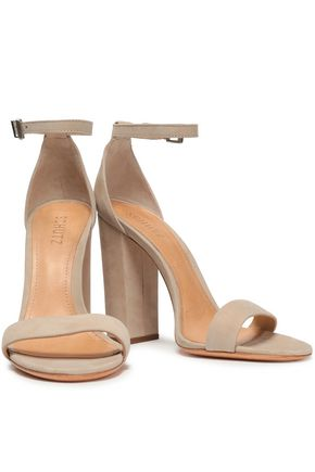 SCHUTZ Enida suede sandals