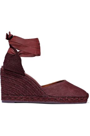 CASTAÑER Carina cotton-canvas wedge espadrille wedge sandals