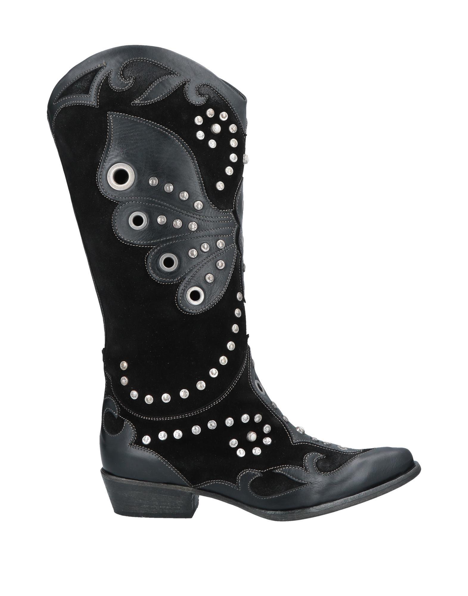 《送料無料》MATERIA PRIMA by GOFFREDO FANTINI レディース ブーツ ブラック 36 革