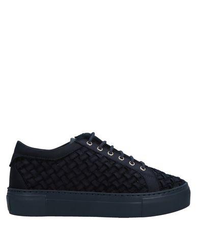 Купить Низкие кеды и кроссовки от AGL ATTILIO GIUSTI LEOMBRUNI темно-синего цвета