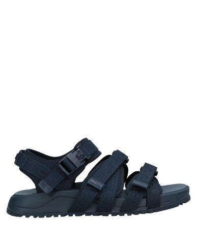 Фото - Мужские сандали  темно-синего цвета