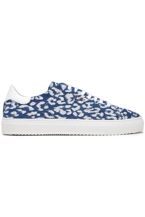 AXEL ARIGATO Leopard-print leather sneakers