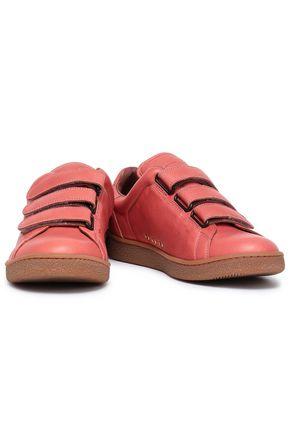 JÉRÔME DREYFUSS Leather sneakers