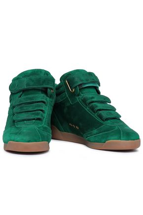 JÉRÔME DREYFUSS Nubuck high-top sneakers
