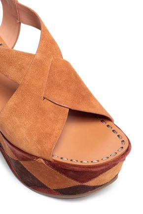 SIGERSON MORRISON Suede platform sandals