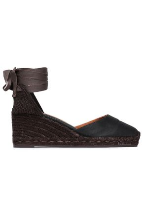CASTAÑER Canvas wedge espadrilles