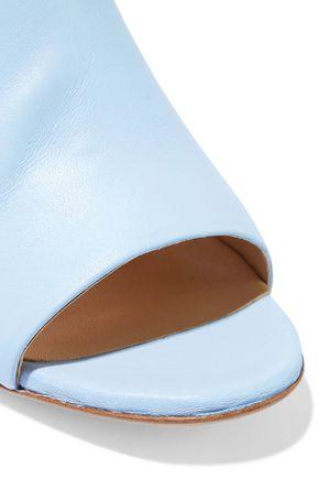IRIS & INK Peony leather mules