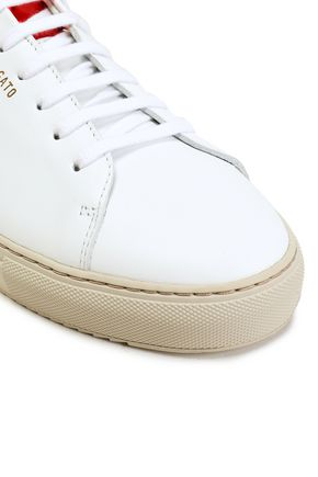 AXEL ARIGATO Clean 90 metallic-trimmed leather sneakers