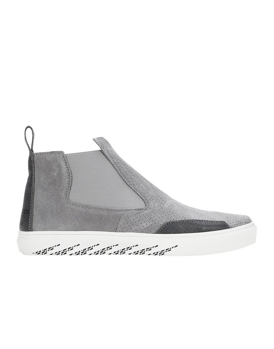 SHOE S0522 SLIP-ON MID (SUEDE, PERFORATED LEATHER, PERFORATED SUEDE) STONE ISLAND SHADOW PROJECT - 0