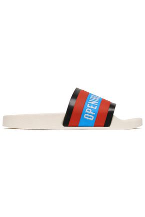 OPENING CEREMONY Striped rubber slides