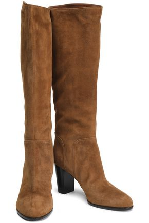 b821d12ceb8 SERGIO ROSSI Royal suede boots