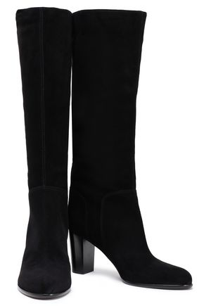 SERGIO ROSSI Royal suede boots