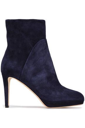 SERGIO ROSSI Suede ankle boots