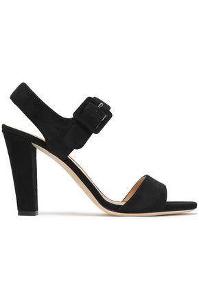 SERGIO ROSSI Suede sandals