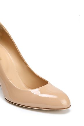 SERGIO ROSSI Patent-leather pumps