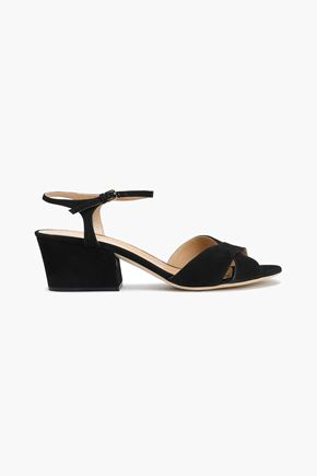 SERGIO ROSSI Royal suede sandals