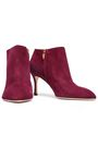SERGIO ROSSI Royal suede ankle boots