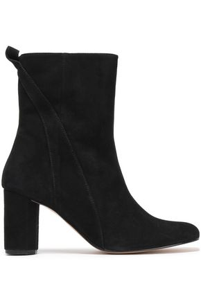 GANNI Carly suede ankle boots