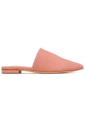 SCHUTZ Nubuck slippers