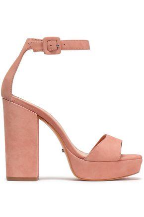 SCHUTZ Suede platform sandals
