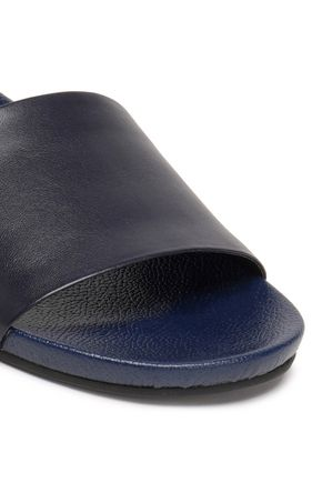 SCHUTZ Leather slides