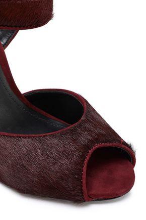 SCHUTZ Calf hair sandals