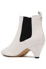 SAM EDELMAN Two-tone leather ankle boots