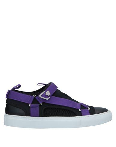 Купить Низкие кеды и кроссовки фиолетового цвета