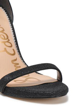 SAM EDELMAN Ariella metallic mesh sandals